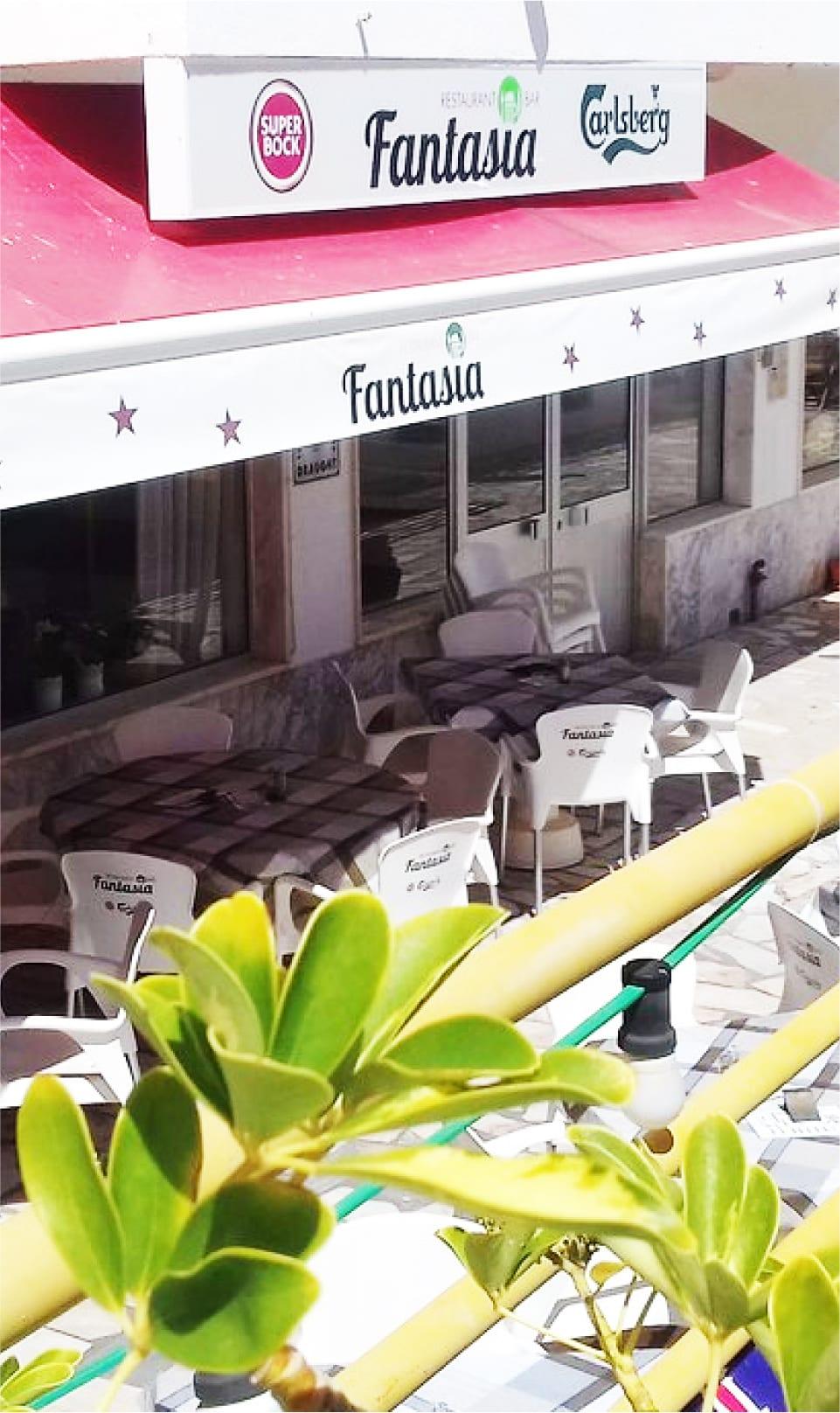 About - Fantasia Restaurant / Bar - Quarteira